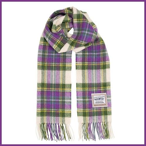 Heritage Pure Wool Scarf Heather Tartan