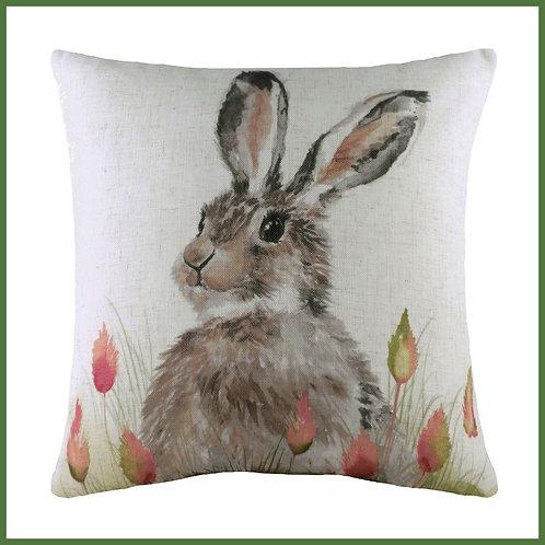 Hedgerow Cushion Hare Large