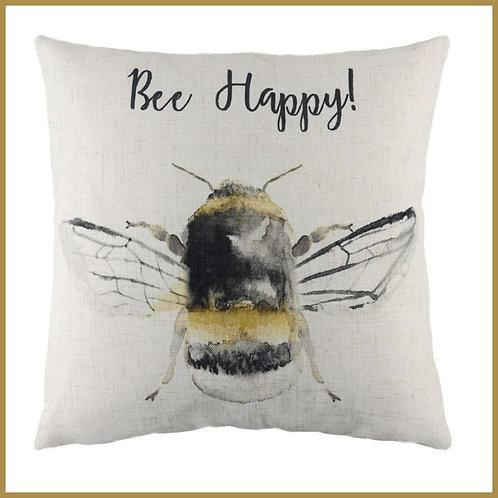 Bee Cushion Bee Happy