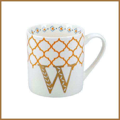 Alphabet Mug W