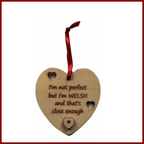 Welsh Cutout Heart Welsh Perfection