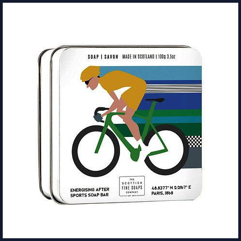 Soap in a Tin Sports Cycling 100g