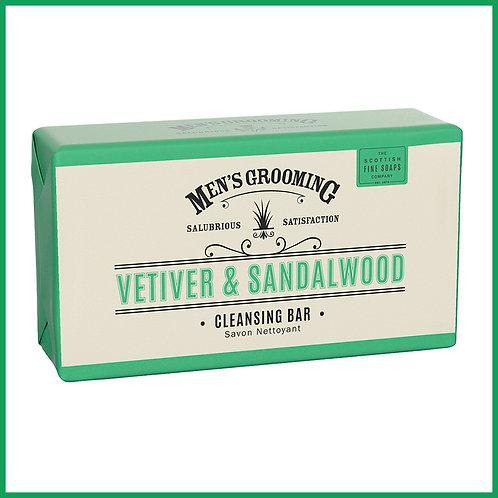Vetiver & Sandlewood Cleansing Bar 220g