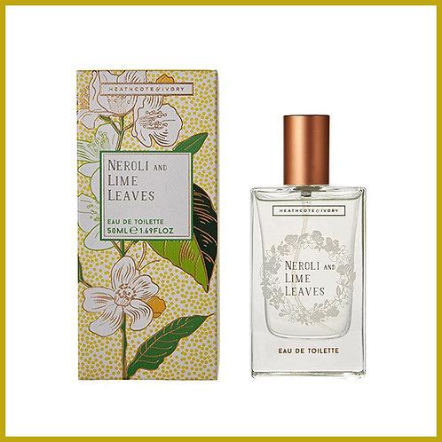 Neroli and Lime Leaves Eau De Toilette 50ml