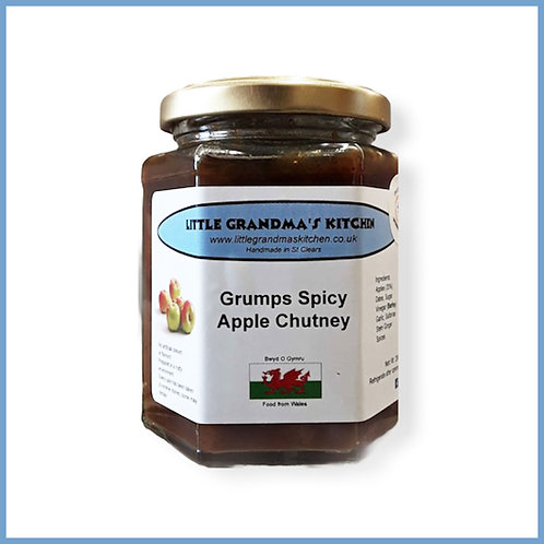 Little Grandma's Chutney Grumps Spicy Apple