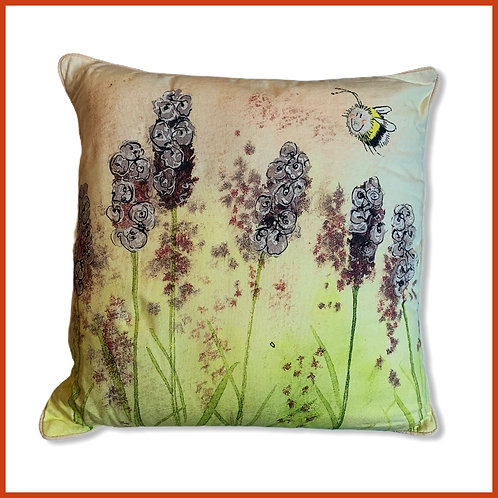 Alex Clark Cushion Lavender Bee