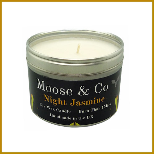 Moose & Co Soy Candle Large Night Jasmine