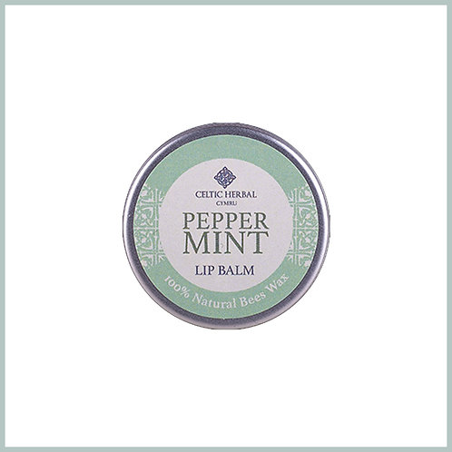 Natural Lip Balm With Peppermint