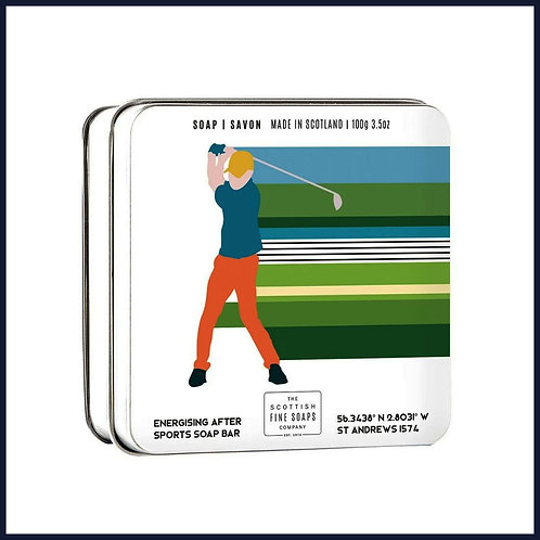 Soap in a Tin Sports Golfing 100g
