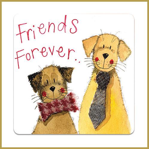 Alex Clark Coaster C109 Friends Forever