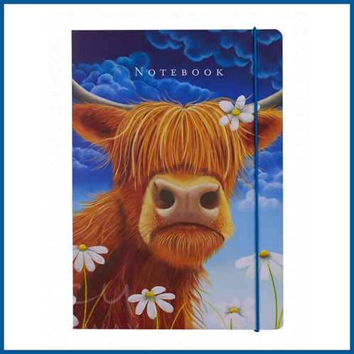 Lucy Pittaway A5 Notebook Daisy The Cow