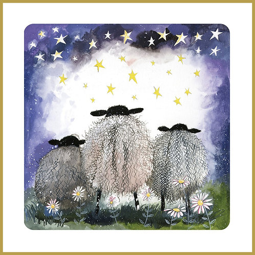 Alex Clark Coaster C148 Starlight Sheep