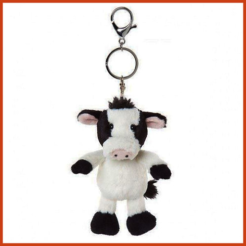 Camilla the Cow Keyring