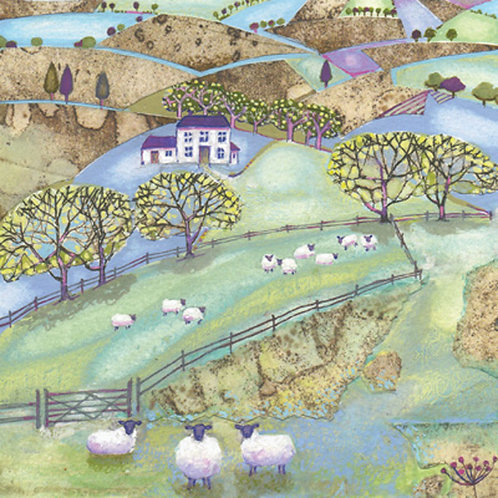 Harvest Moon Patchwork Sheep