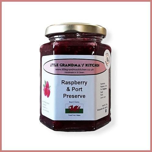Little Grandma's Preserve Raspberry & Port