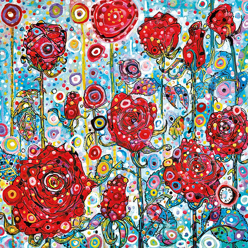 Sally Rich Red Roses