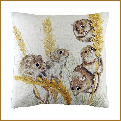 Woodland Cushion Field Mice