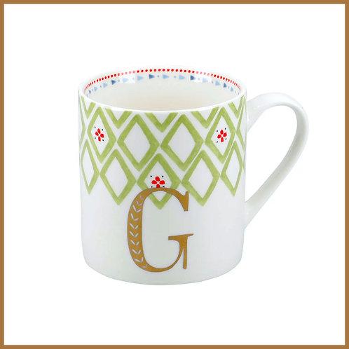 Alphabet Mug G