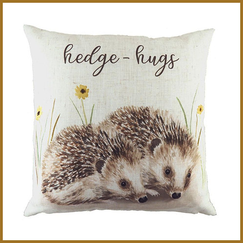 Woodland Cushion Hedge-hugs