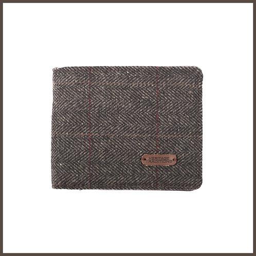 Heritage Traditions Tweed Wallet Grey Herringbone