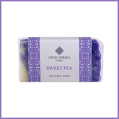 Handmade Natural Soap Sweet Pea