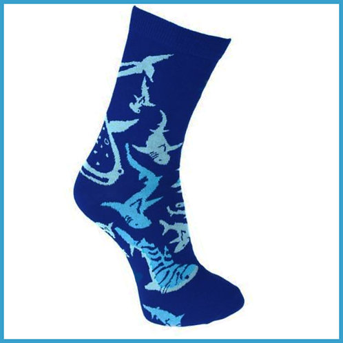 Bamboo Socks Sharks