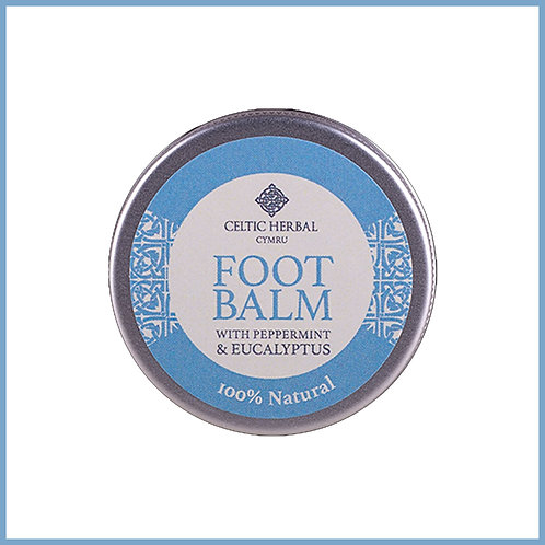 Natural Foot Balm With Peppermint & Eucalyptus