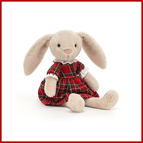 Jellycat Lottie Tartan Bunny