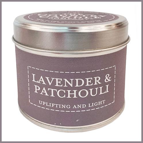 Pastels Candle Lavender & Patchouli