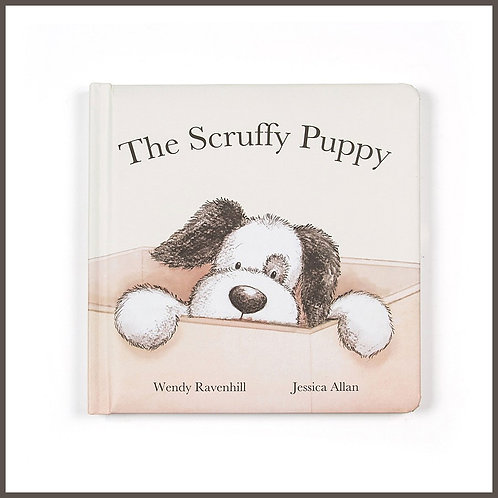 Jellycat Book The Scruffy Puppy