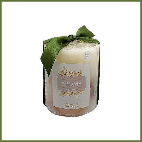 Aroma Botanical Candle Pear & Freesia