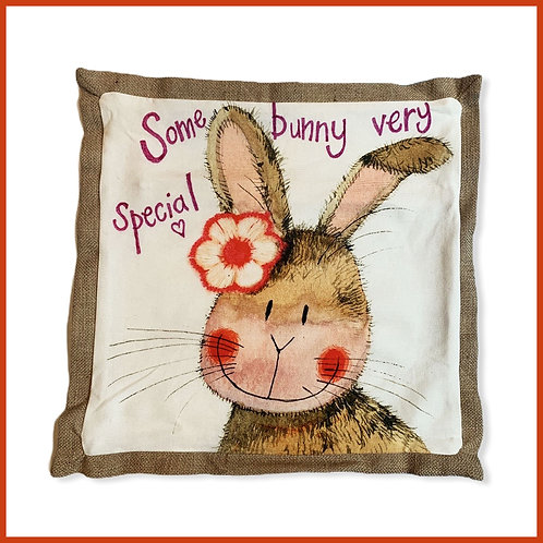 Alex Clark Cushion Some Bunny Very Special