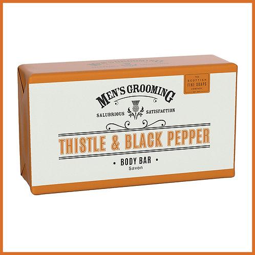 Thistle & Black Pepper Body Bar 220g
