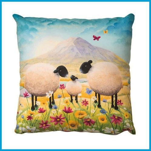 Lucy Pittaway Cushion Butterflies & Babies