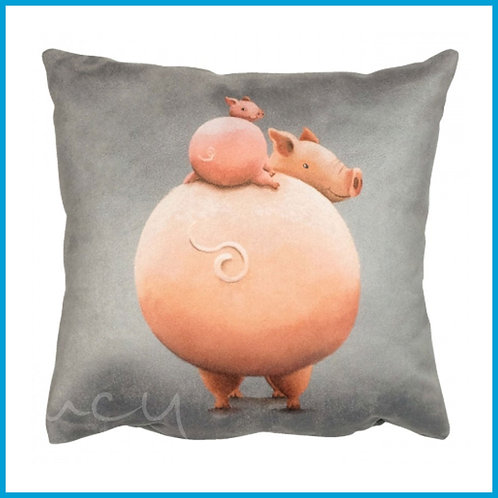 Lucy Pittaway Cushion Pig & Piglet