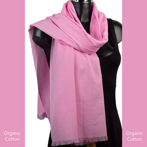 Organic Cotton Pashmina Orchid