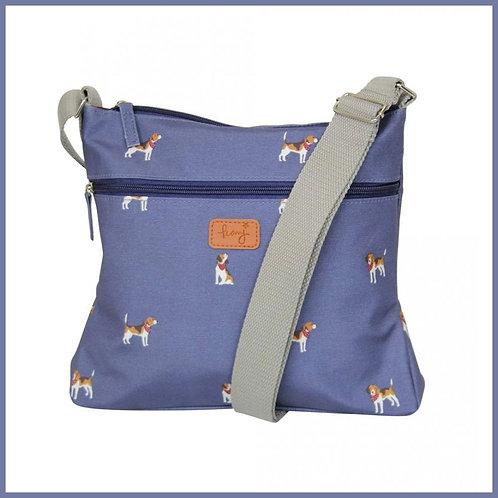 Beagle Range Cross Body Bag Navy