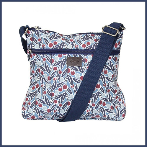 Berries Range Cross Body Bag Blue