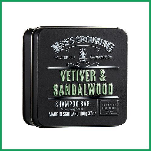 Vetiver & Sandlewood Shampoo Bar 100g