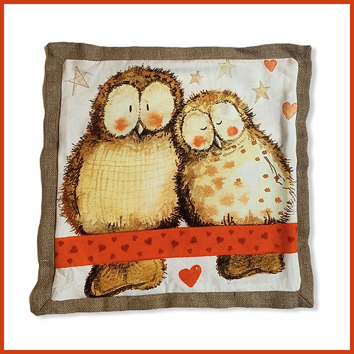 Alex Clark Cushion Duo Owls