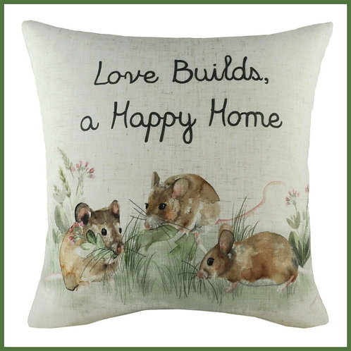Hedgerow Cushion Love Happy Home
