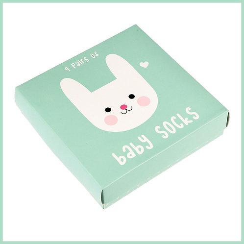 Bonnie The Bunny Baby Socks 4 Pairs