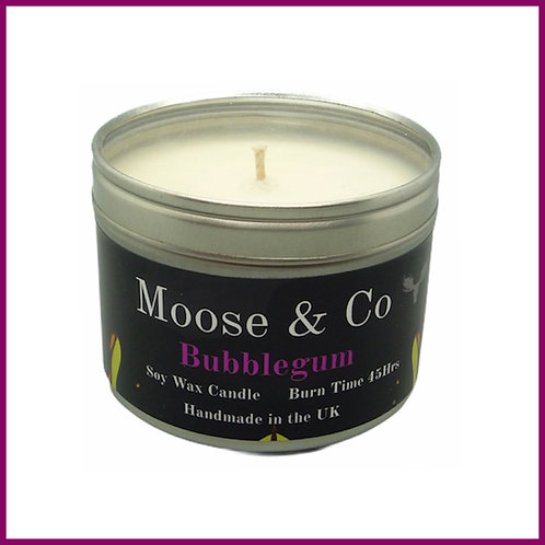 Moose & Co Soy Candle Large Bubblegum