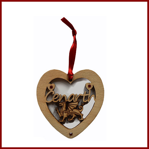 Welsh Fretwork Heart Cenarth
