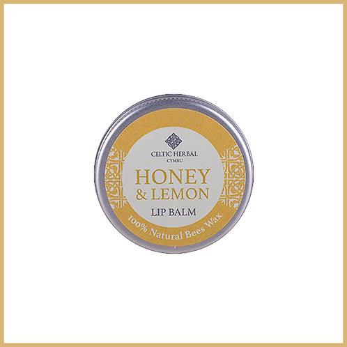 Natural Lip Balm With Honey & Lemon