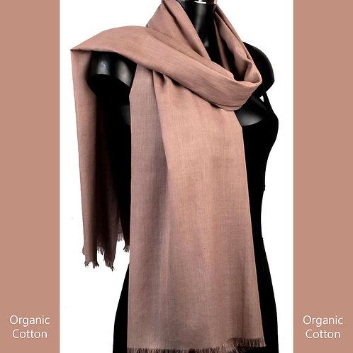 Organic Cotton Pashmina Mushroom