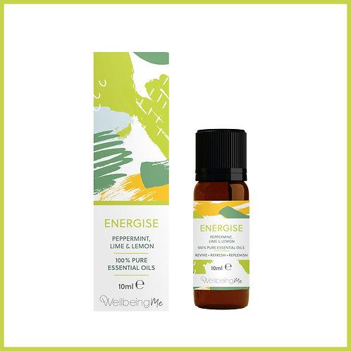100% Pure Essential Oils Energise