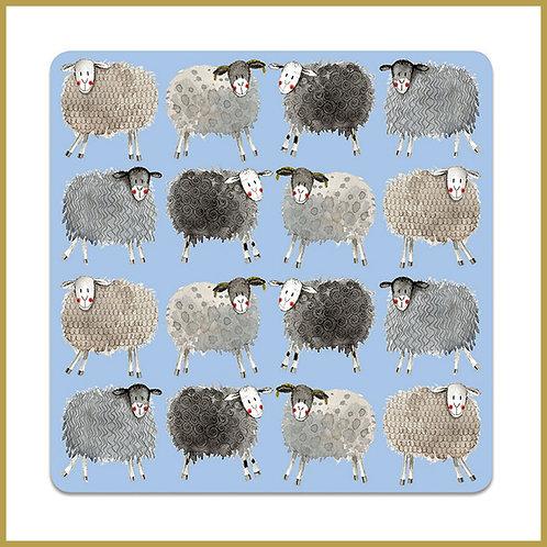 Alex Clark Coaster C98 Sheep Pattern