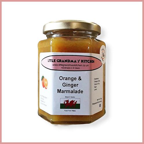 Little Grandma's Marmalade Orange & Ginger