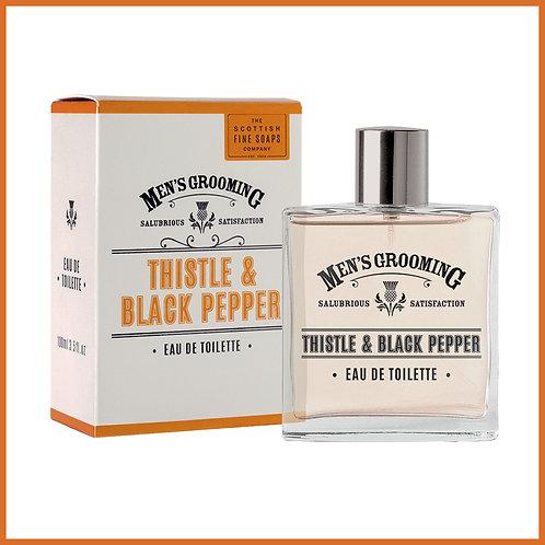 Thistle & Black Pepper Eau De Toilette 100ml